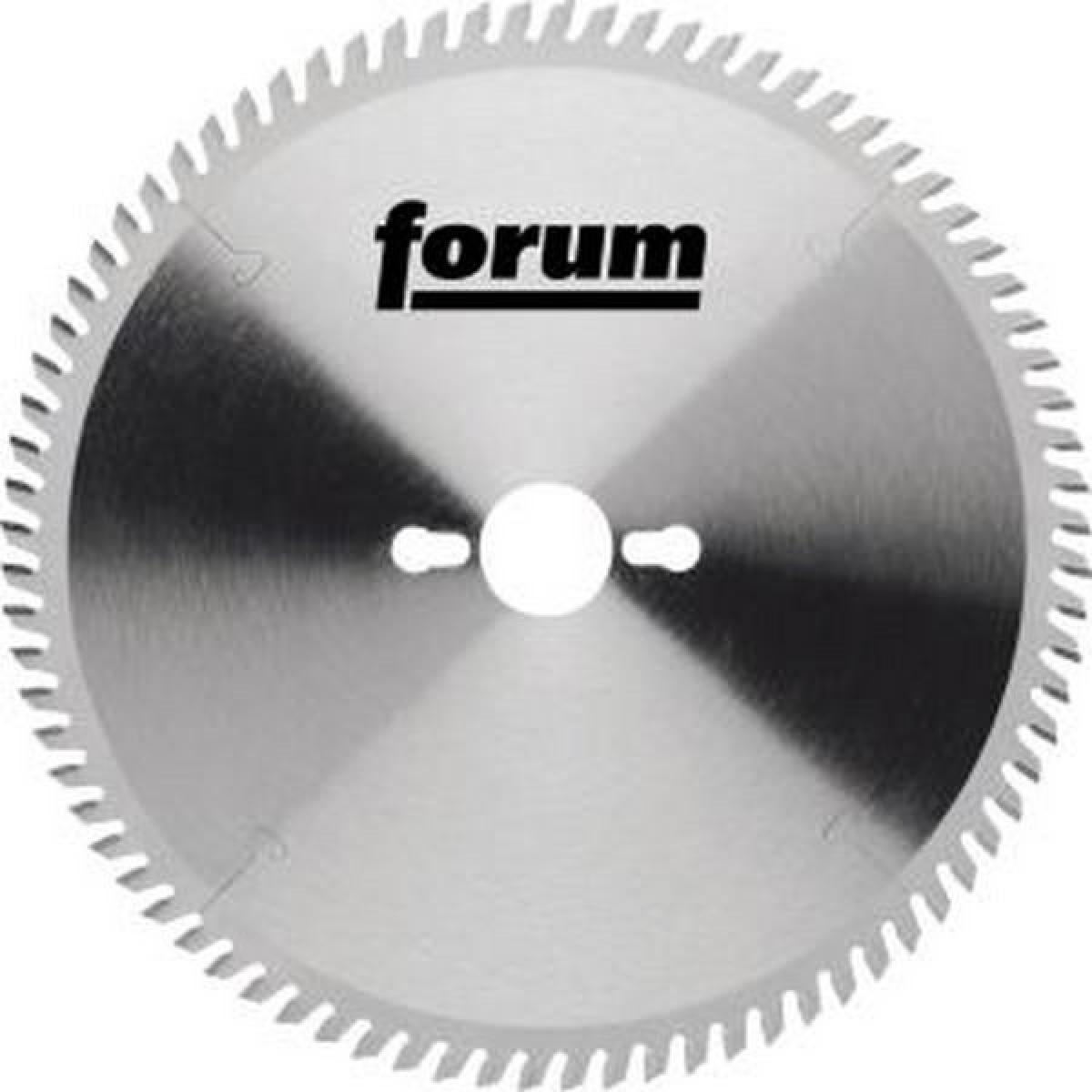 Forum Lame de scie circulaire, Ø : 250 mm, Larg. : 2,1 mm, Alésage 30 mm, Perçages secondaires : 2KNL*, Dents : 80