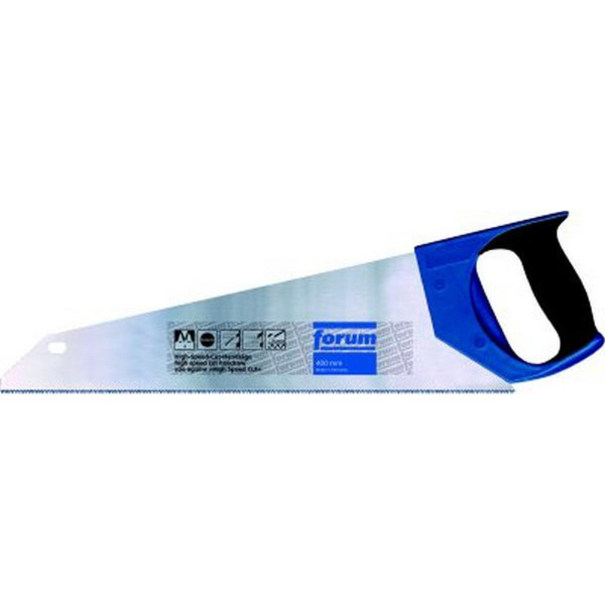 Forum Scie à main avec poignée à 2 composants, longueur de lame : 400 mm, Dents par pouce 11