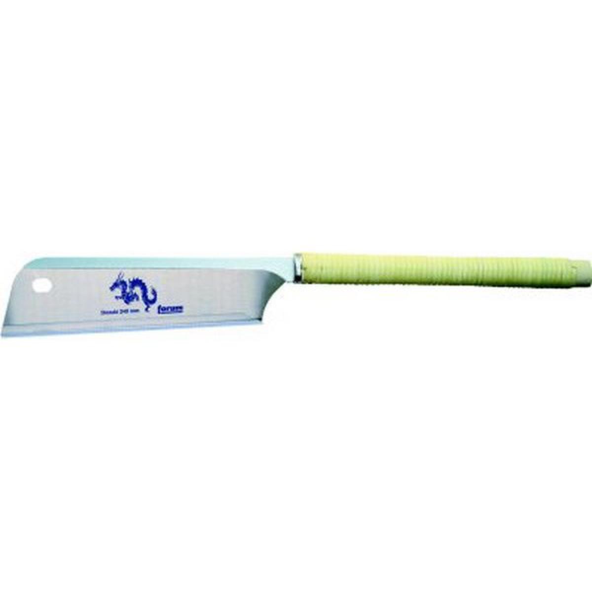 Forum Scie japonaise Dozuki, poignée bambou, longueur de lame 240 mm, Épaisseur de lame 0,5 mm