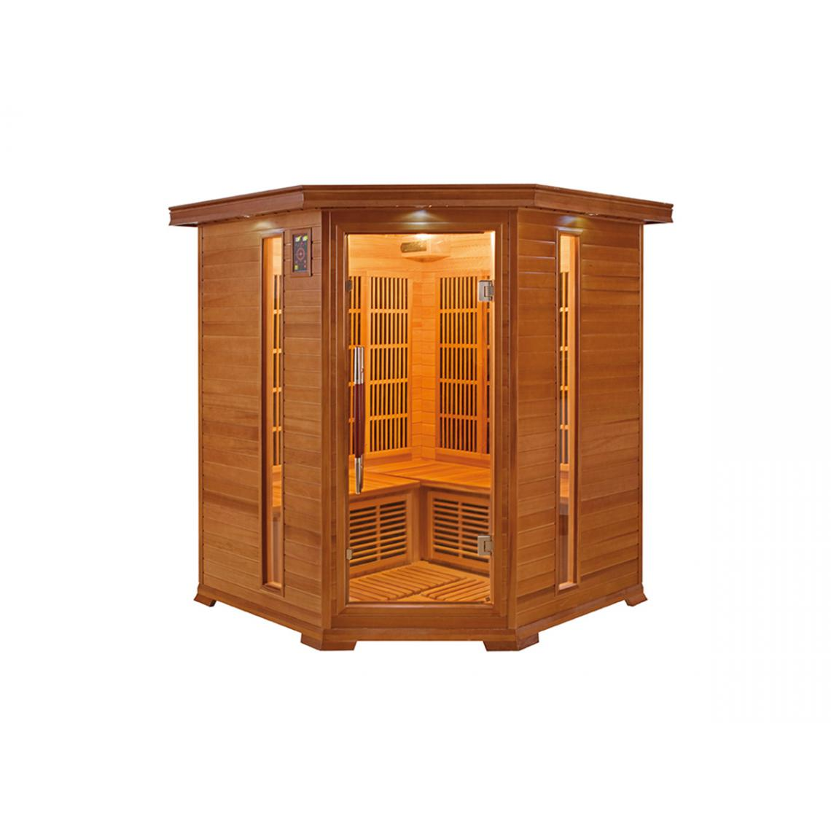 France Sauna Sauna infrarouge 3/4 places Luxe - France Sauna