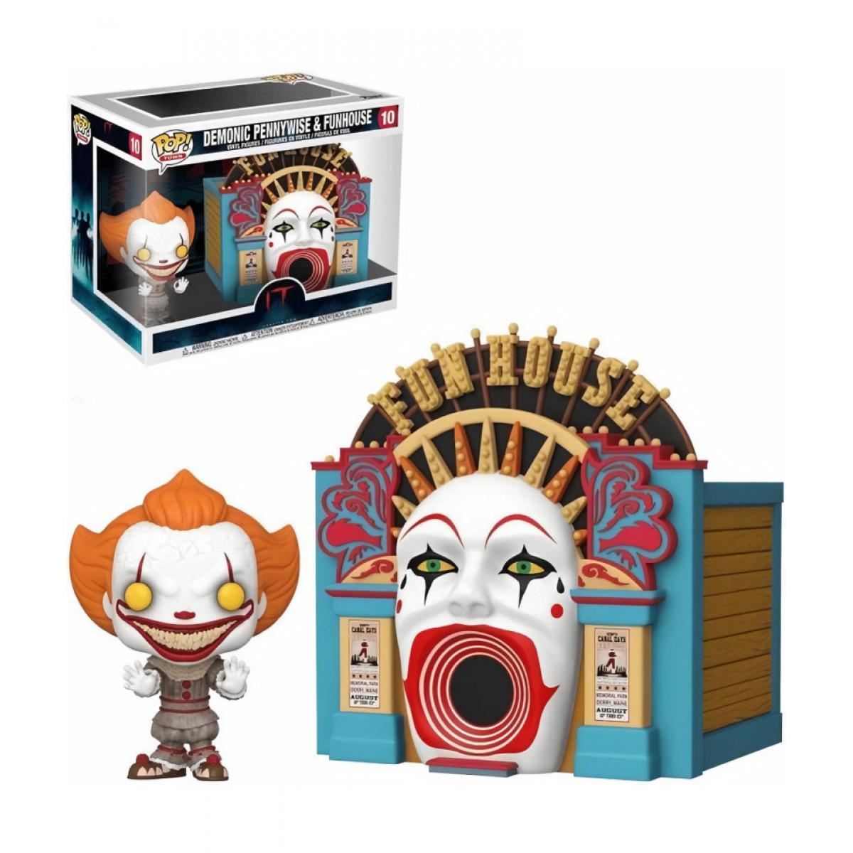 Funko Figurine Funko POP! Town: IT 2 - Demonic Pennywise w/Funhouse