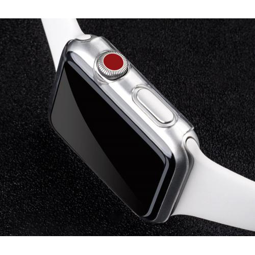 Generic - Coque Rigide PC Transparente Ultra-Mince Pour Apple Watch Series 3 42mm - Objets connectés