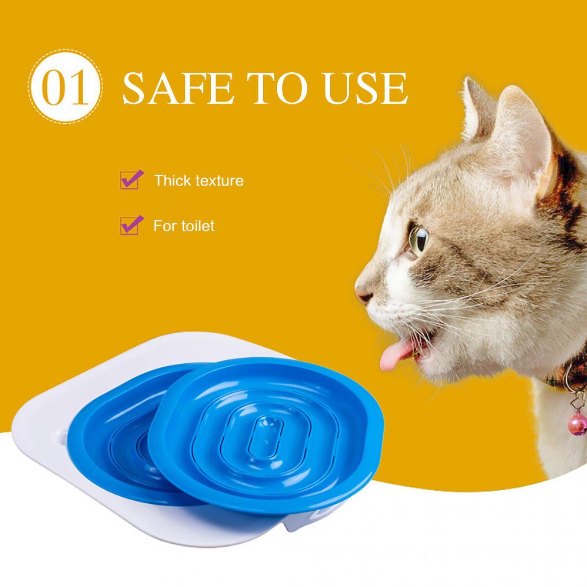 Generic Kit de formation de toilette pour chat en plastique pour tapis de bac à sable Cleanin @7e Edition1