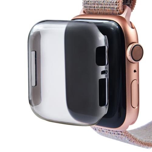 Generic - Protection Ultra-Slim Clear PC Protect Case Cover pour Apple Watch Series 4 44MM - Objets connectés