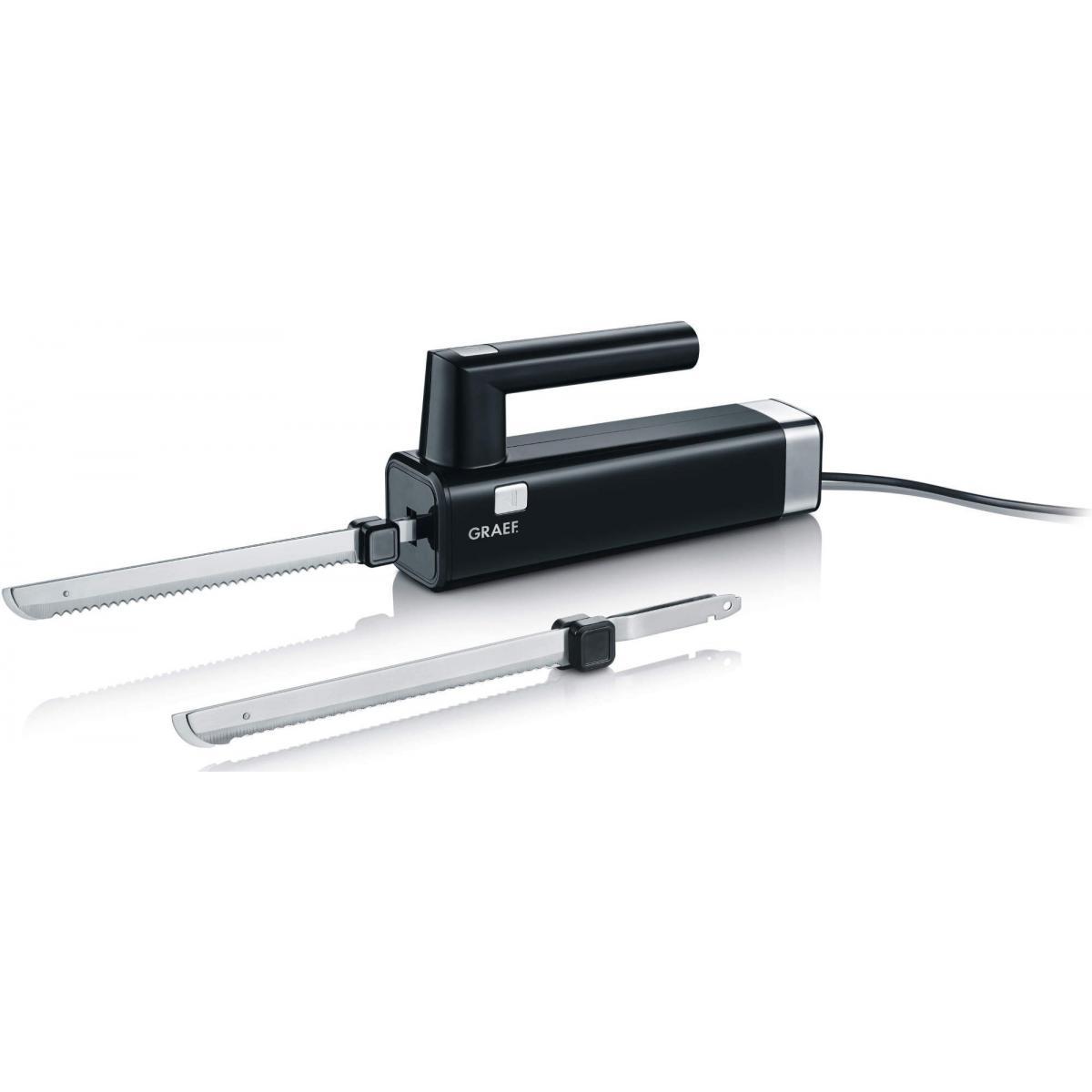 Graef Couteau électrique - EK 502 - Noir
