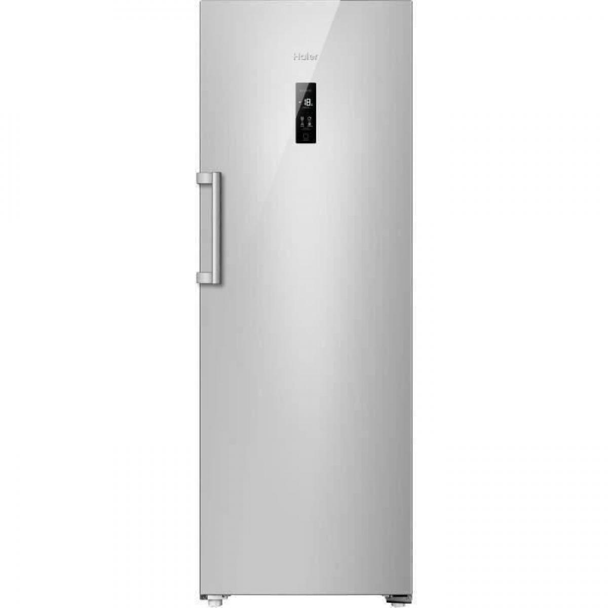 Haier - HAIER H2F-220SF - Congélateur armoire - 226L - Froid No Frost - L60 x H167,1 cm - Silver