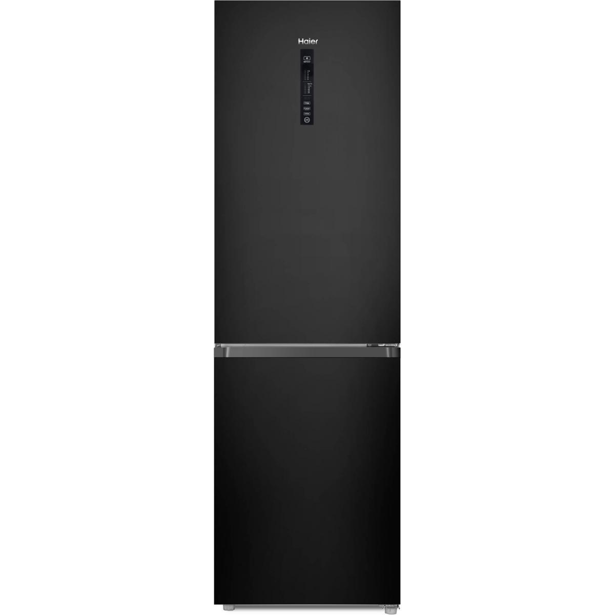 Haier Réfrigérateur combiné 341L Froid Ventilé HAIER 59.5cm A+, HDR3619FNPB