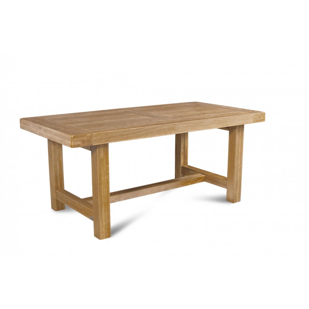 HELLIN Table de ferme campagnarde - bois chêne massif