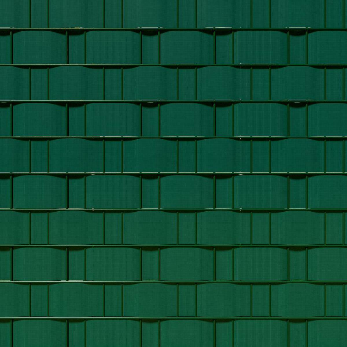 Helloshop26 Brise vue brise vent film anti regards clôture paravent PVC vert 35 m 2208239