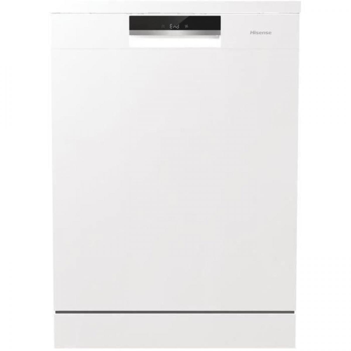 Hisense Lave vaisselle pose libre HISENSE HS661C60W - 16 couverts - Moteur induction - Largeur 60cm - 44dB - Blanc