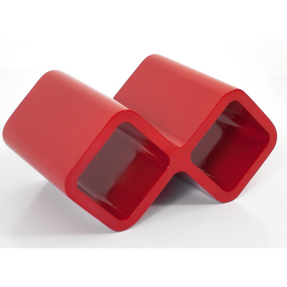 Homestyle4U Etagere mur cubes Bouteilles de vin rouge