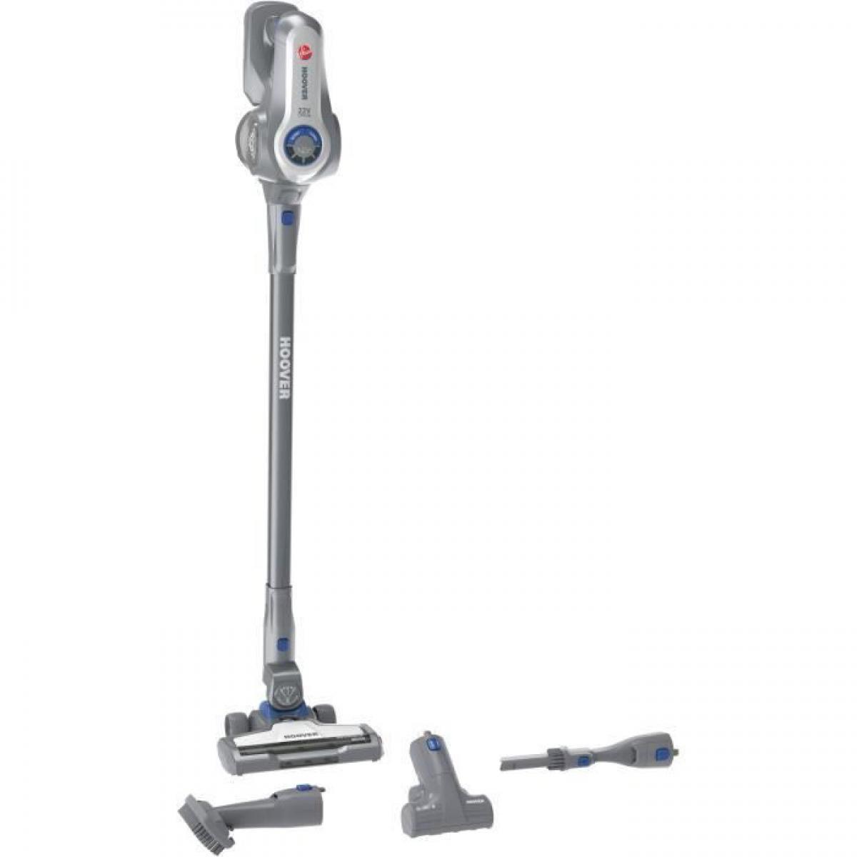 Hoover HOOVER HF722PTLG Aspirateur balai sans sac multi-fonctions - Leger et maniable - 22 V Lithium - Accessoire special anima