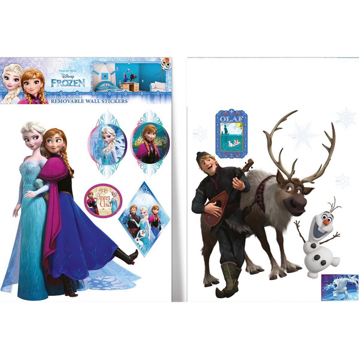 Imagicom 13 Stickers La Reine des Neiges Frozen Disney