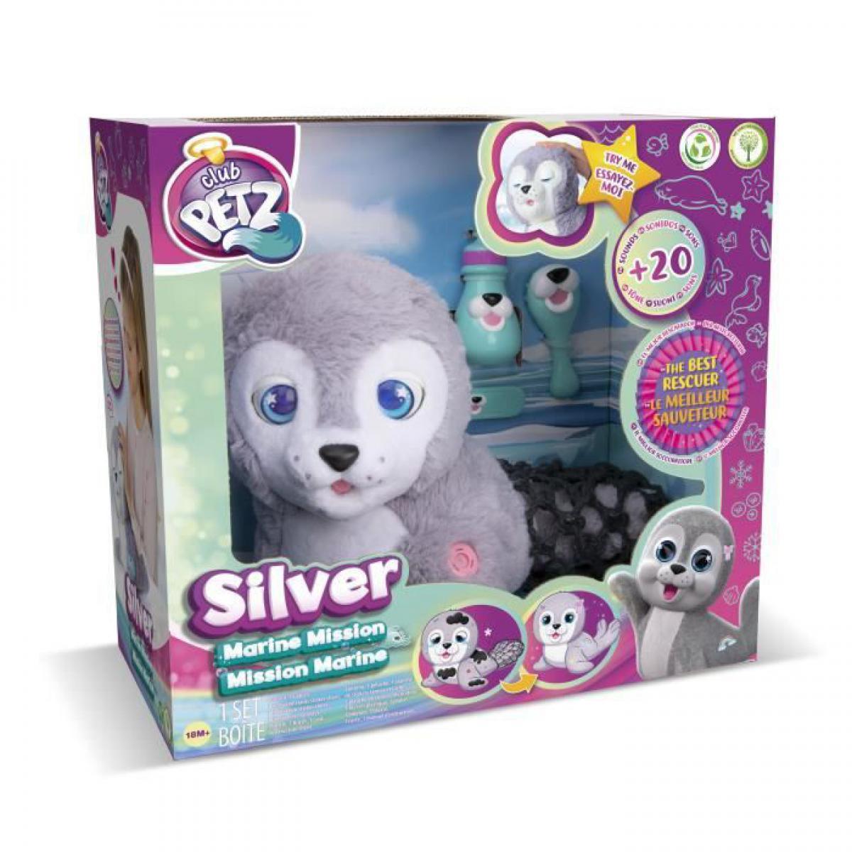 Imc Toys Silver, mon bébé phoque