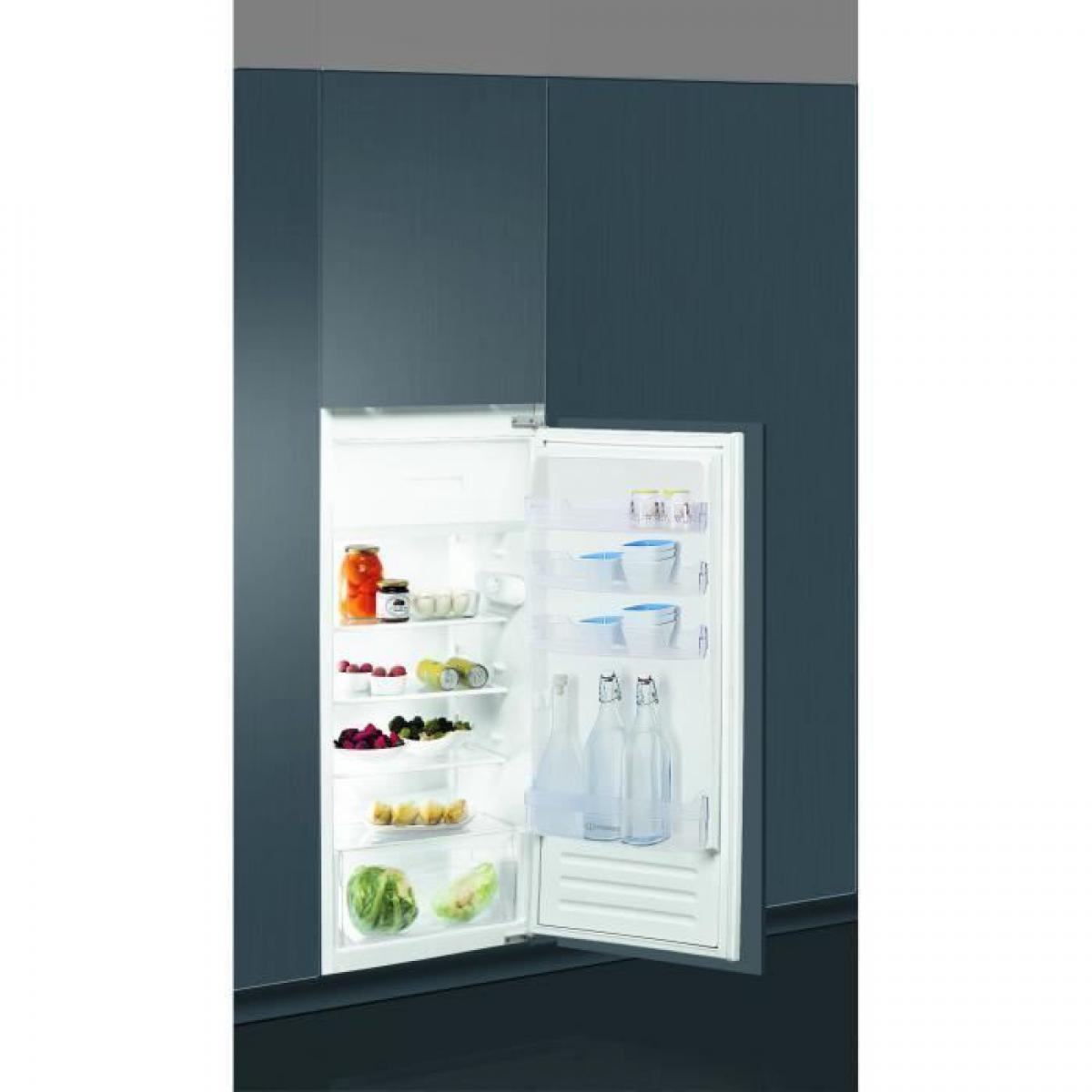 Indesit Réfrigérateur combiné 191L Froid Statique INDESIT 54cm A+, IND8050147056103