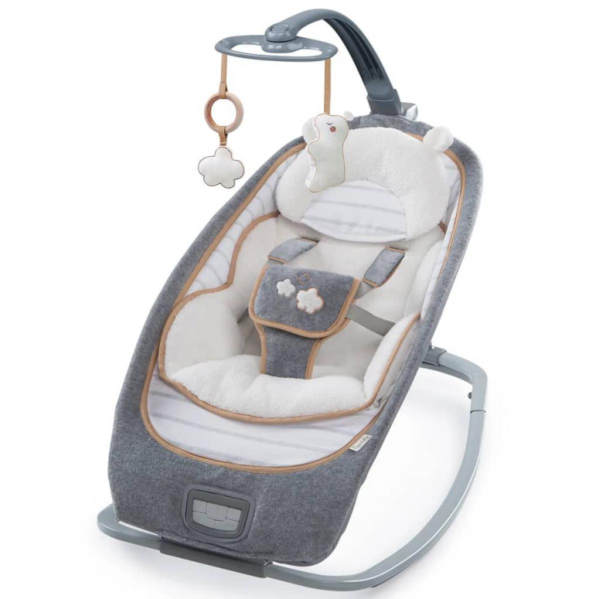 Ingenuity Ingenuity Transat à bascule pour bébé Bella Teddy K10986