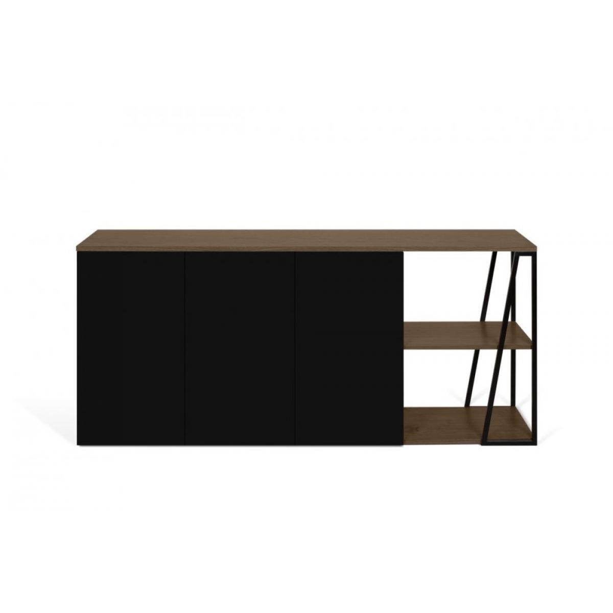 Inside 75 Buffet design ALBI Noyer/Noir