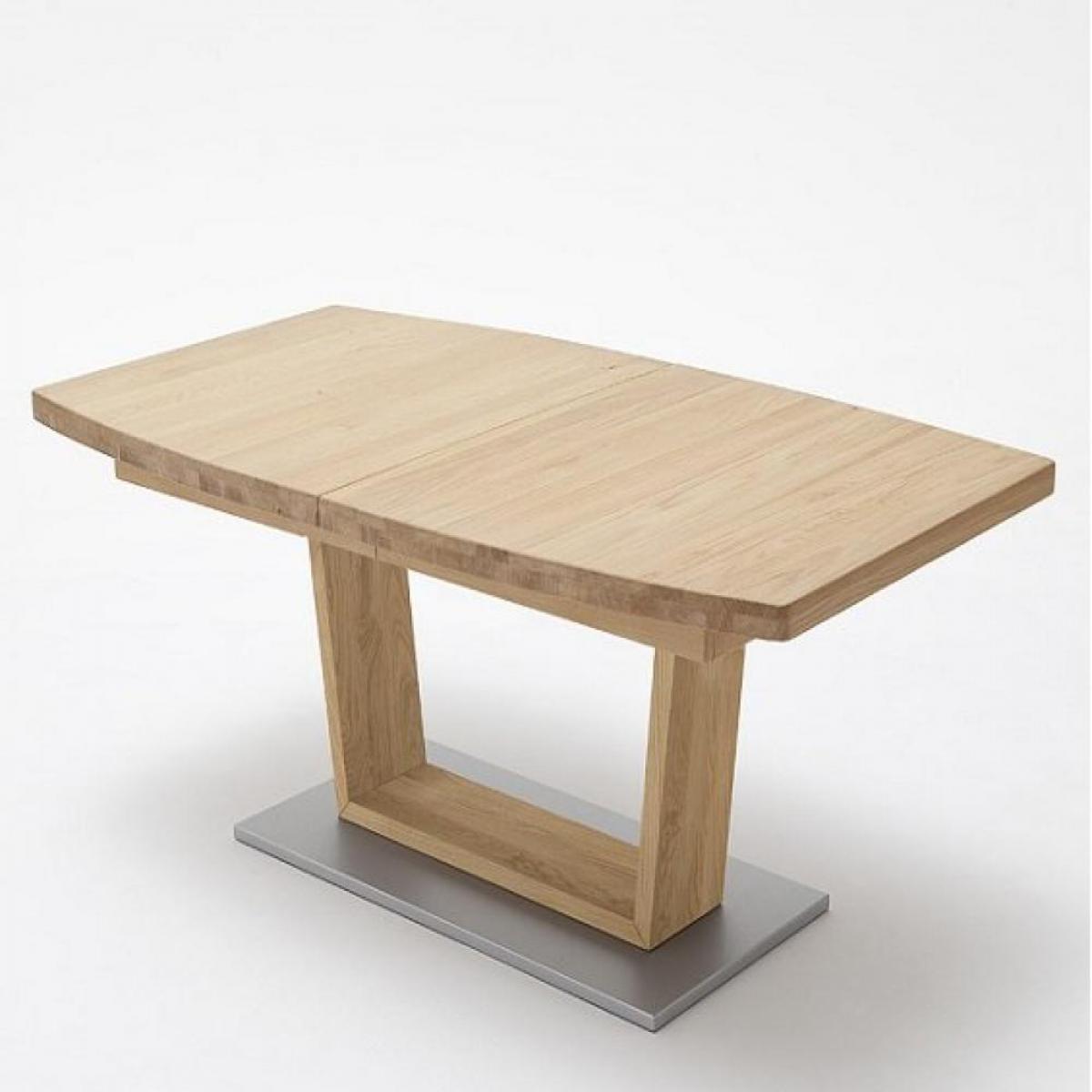 Inside 75 Table extensible CATANE 140 x 90 cm chêne massif