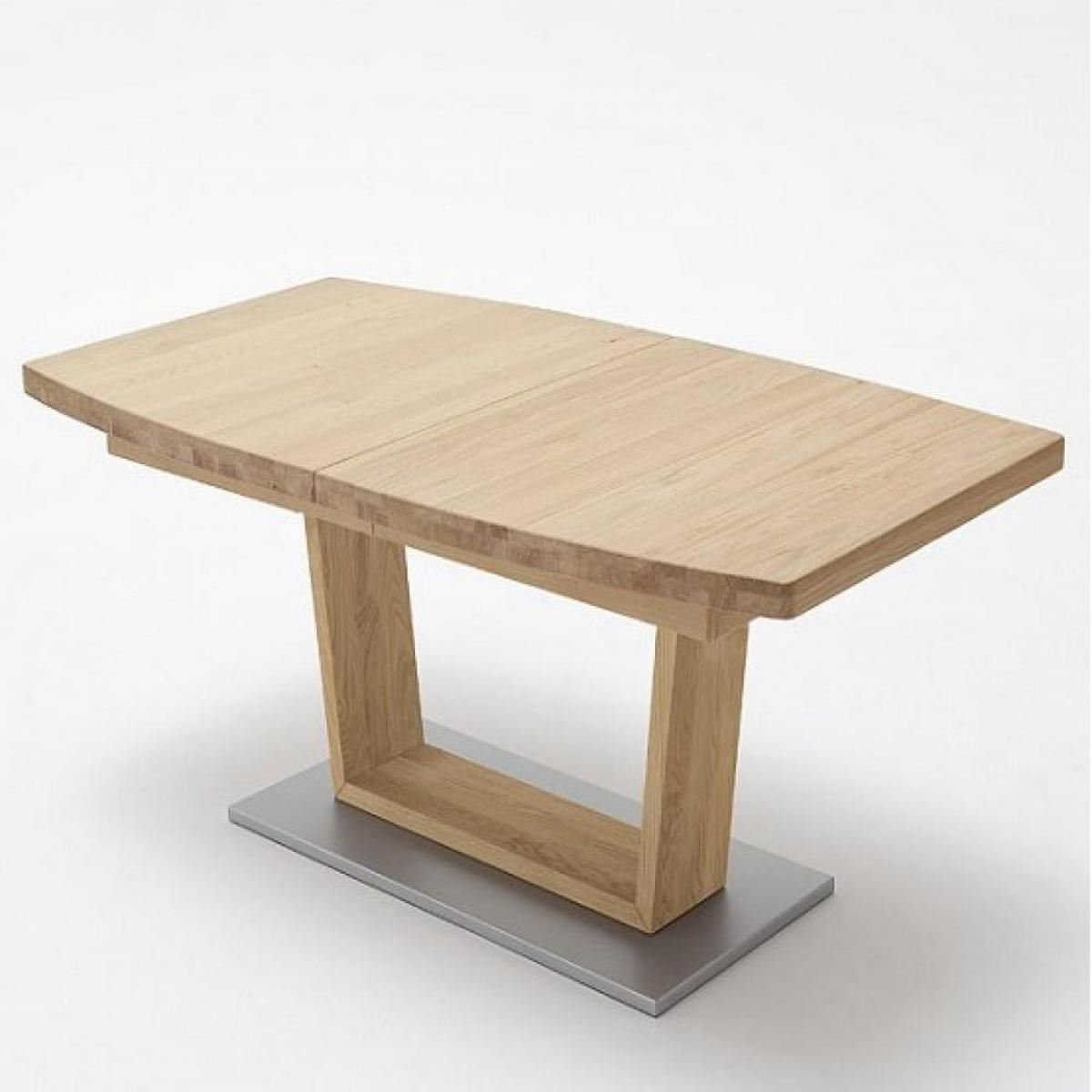 Inside 75 Table extensible CATANE 180 x 100 cm chêne massif