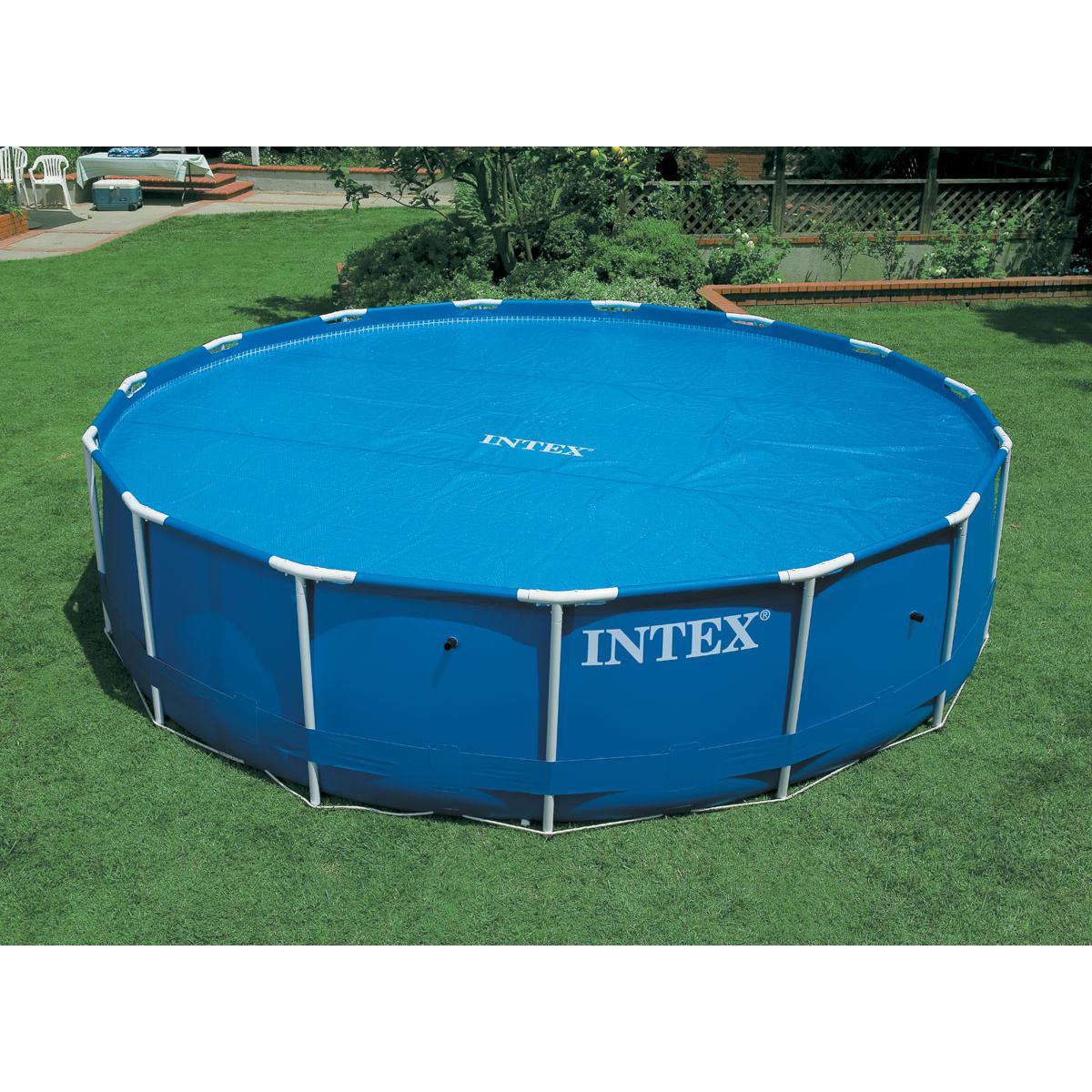 Intex Bâche à bulles pour piscine Ø 5,49 m - Intex
