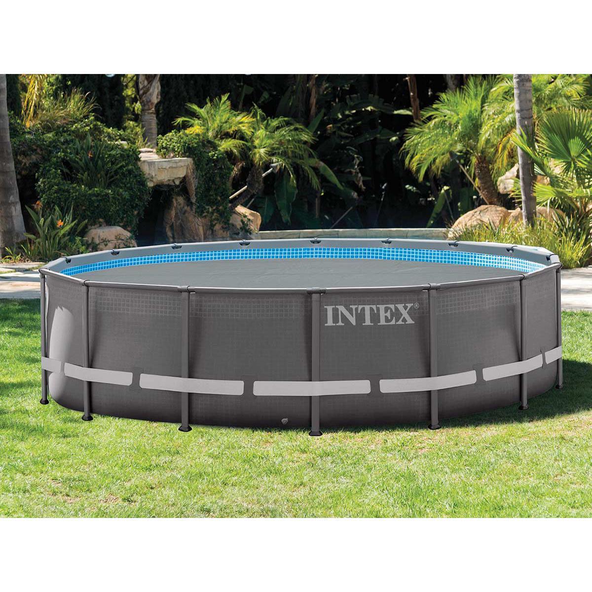 Intex Bâche à bulles renforcée pour piscine Ø 5,49 m - Intex