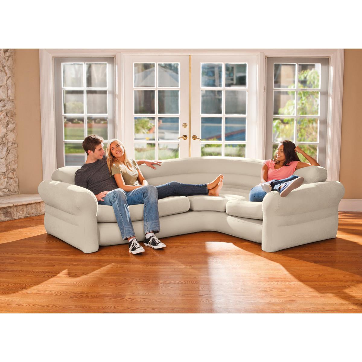 Intex Canapé Sofa d'angle gonflable - Intex