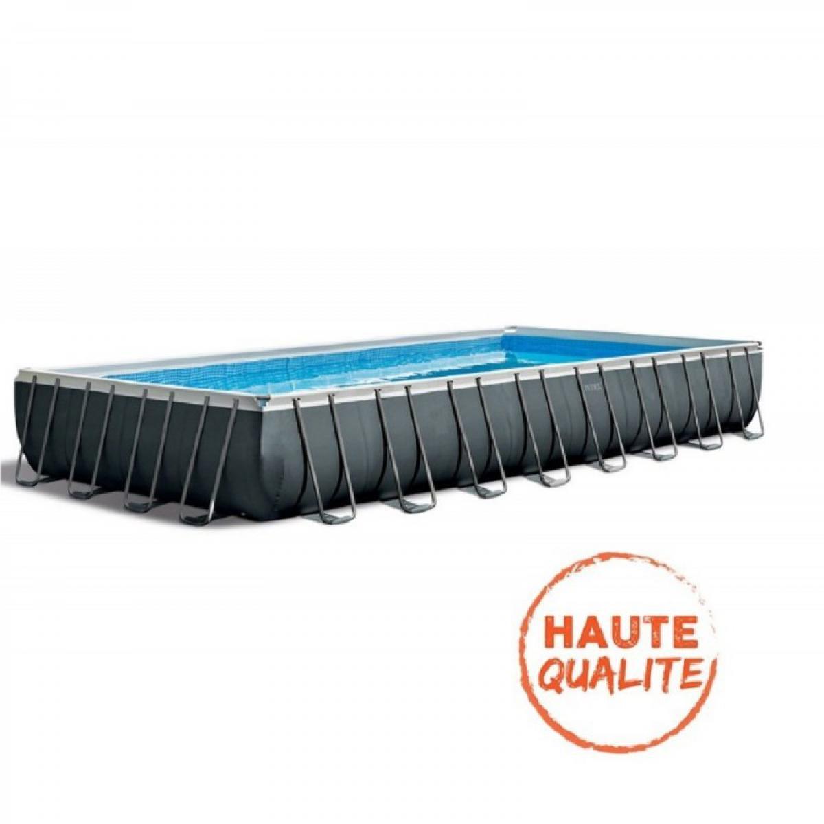 Intex Kit piscine Intex Ultra rectangulaire 5,49 m