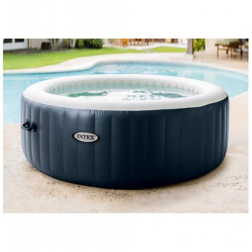 Intex - Spa gonflable Intex PureSpa Blue Navy 4 places Intex   - Spa gonflable