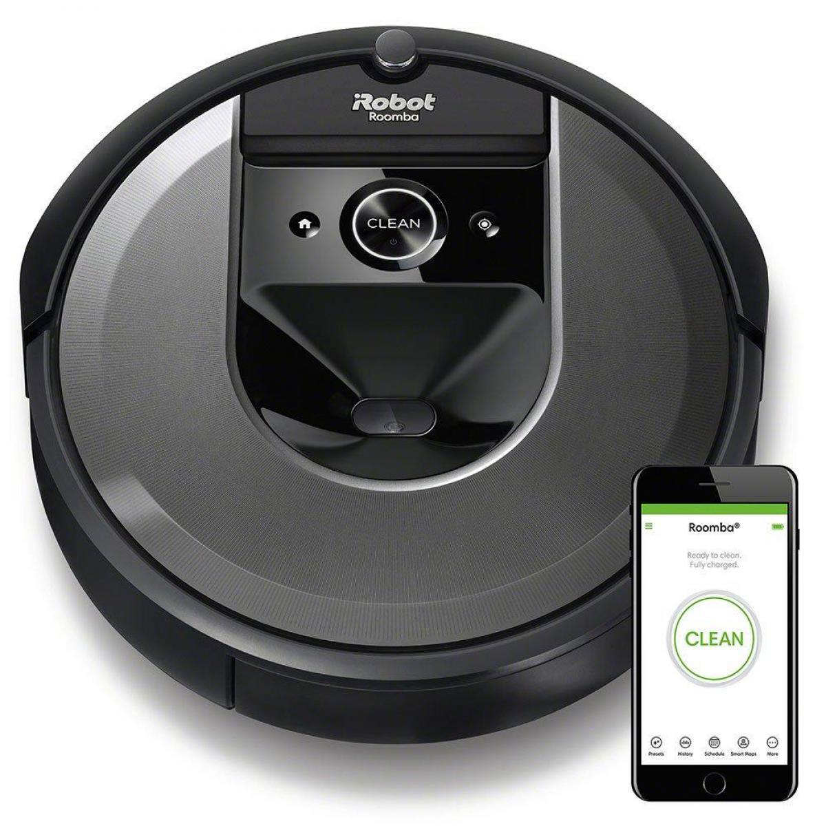 iRobot Aspirateur robot Roomba i7 - i715040 - Noir