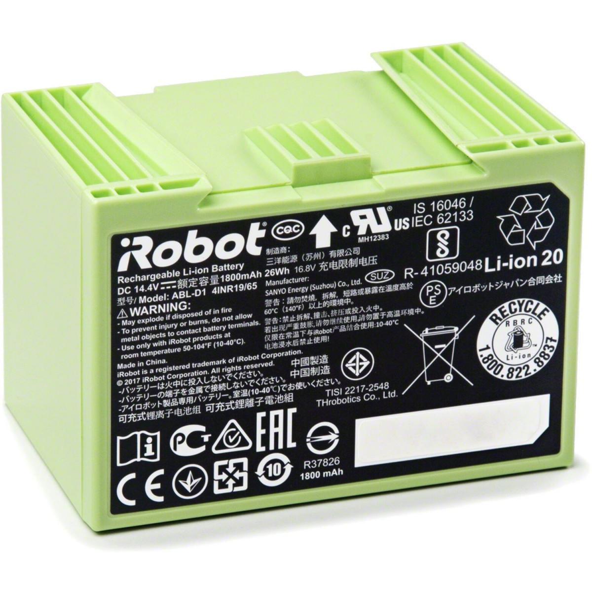 iRobot Batterie Lithium ion iRobot Roomba Série e et i