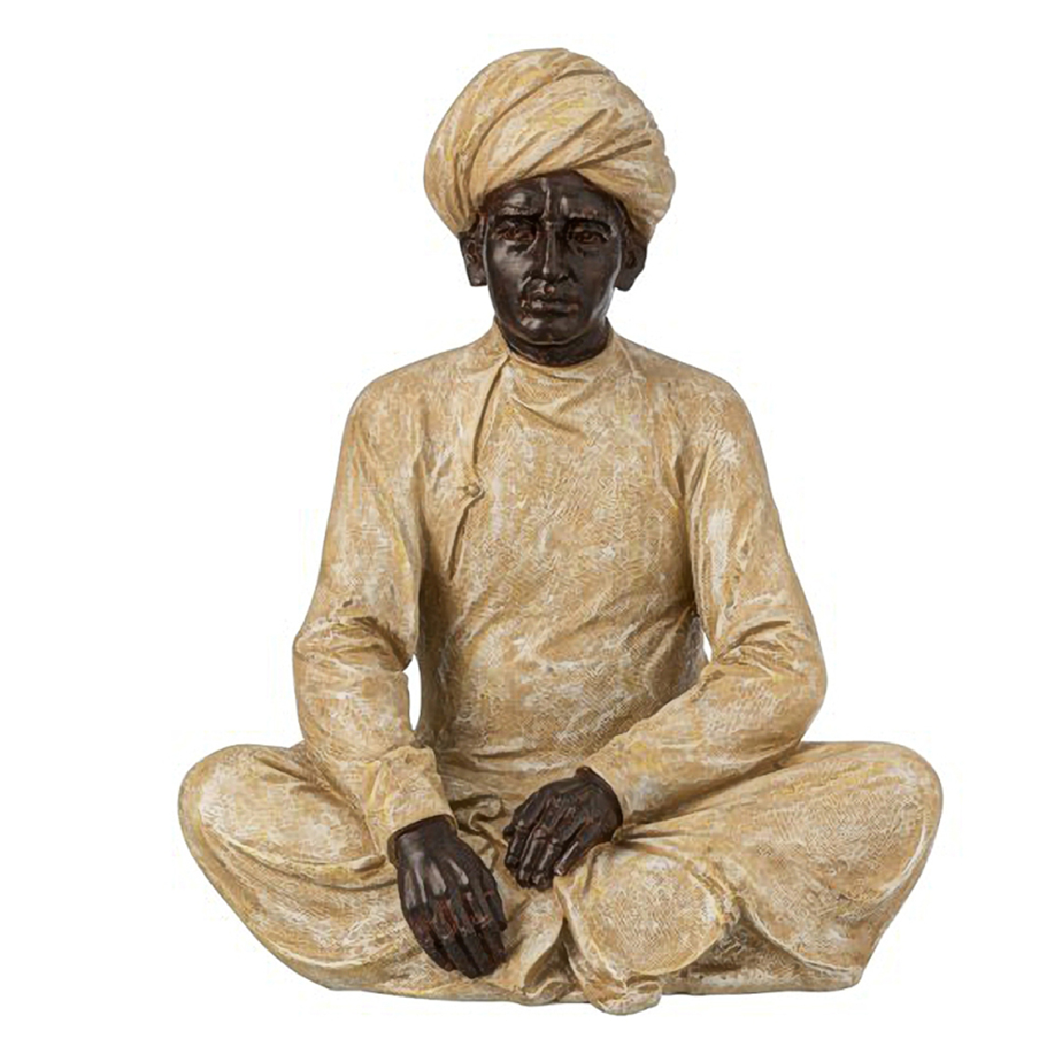 Ixo Statuette Homme Indien Assis