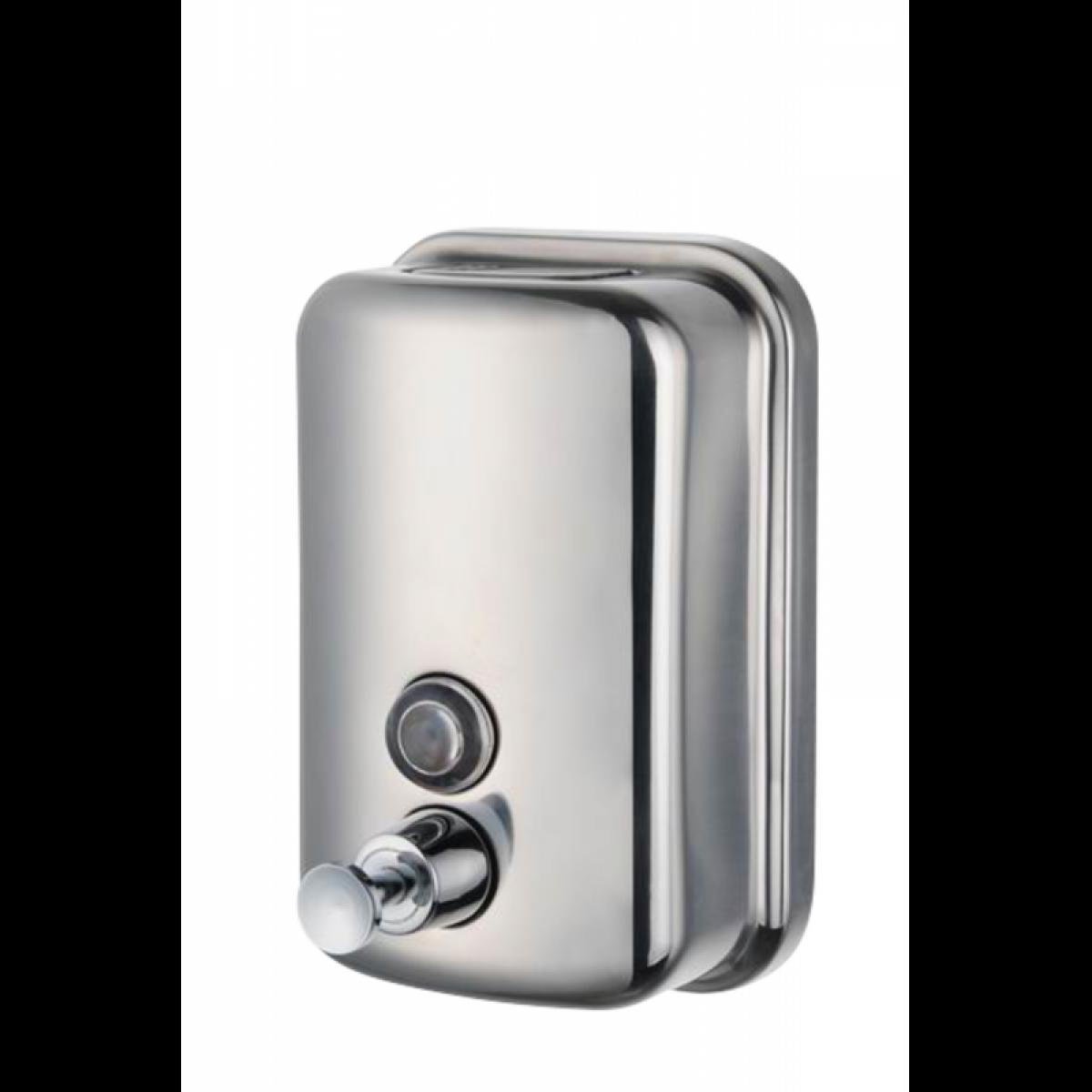 Jantex Distributeur de savon liquide en inox - Stalgast -
