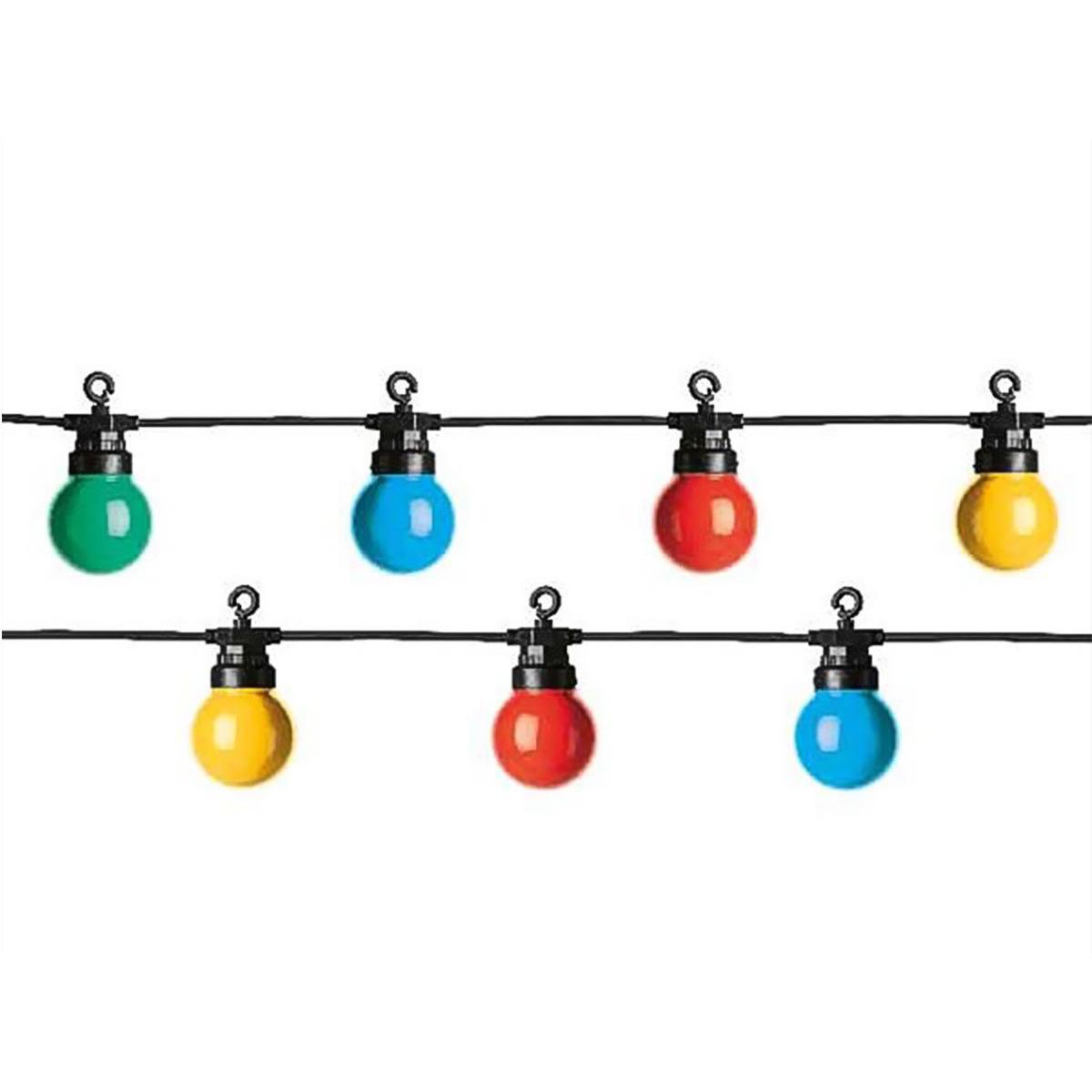 Jardideco Guirlande lumineuse 20 Led 8 fonctions - muticolore