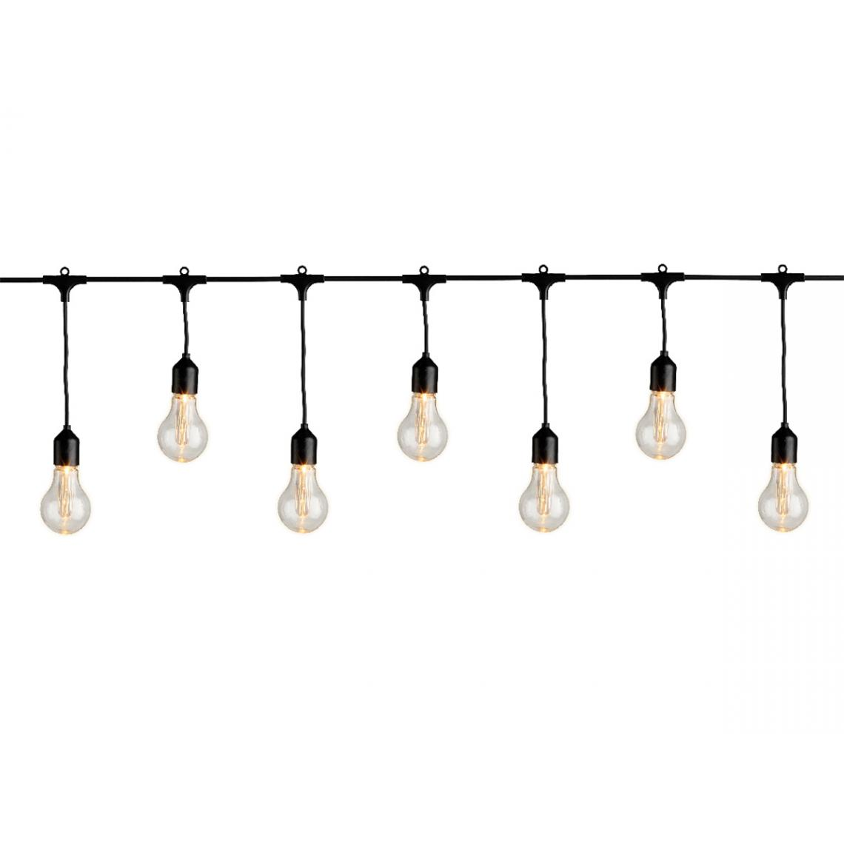 Jardideco Guirlande lumineuse grandes ampoules 20 LEDs - Jardideco