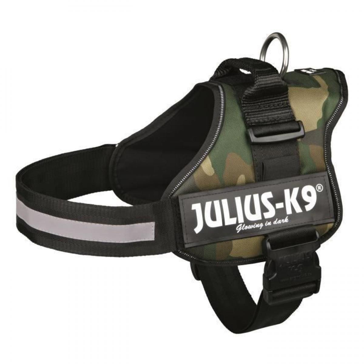 Julius K9 Harnais Power Julius-K9 - 2 - L-XL : 71-96 cm-50 mm - Camouflage - Pour chien