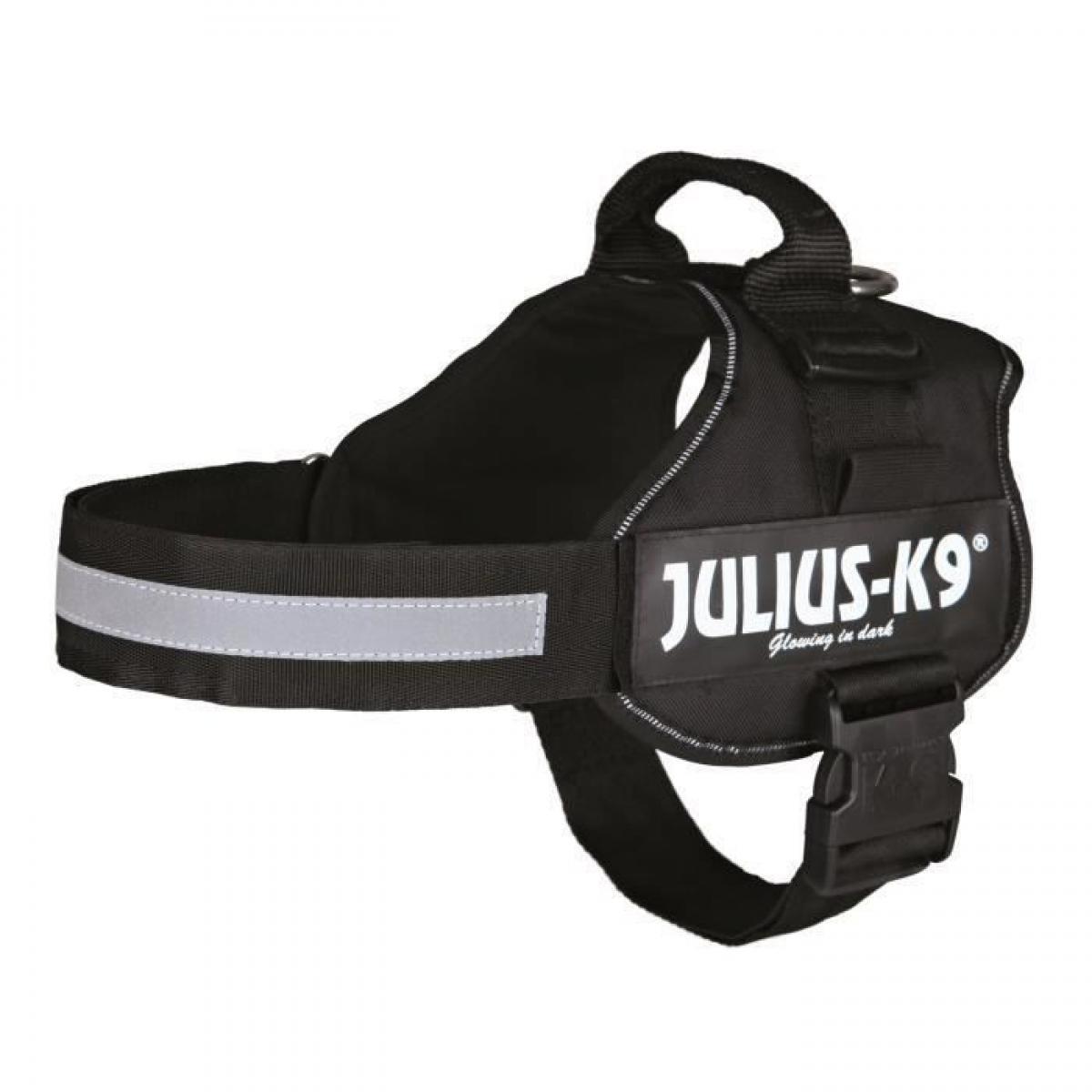 Julius K9 Harnais Power Julius-K9 - 2 - L-XL : 71-96 cm-50 mm - Noir - Pour chien