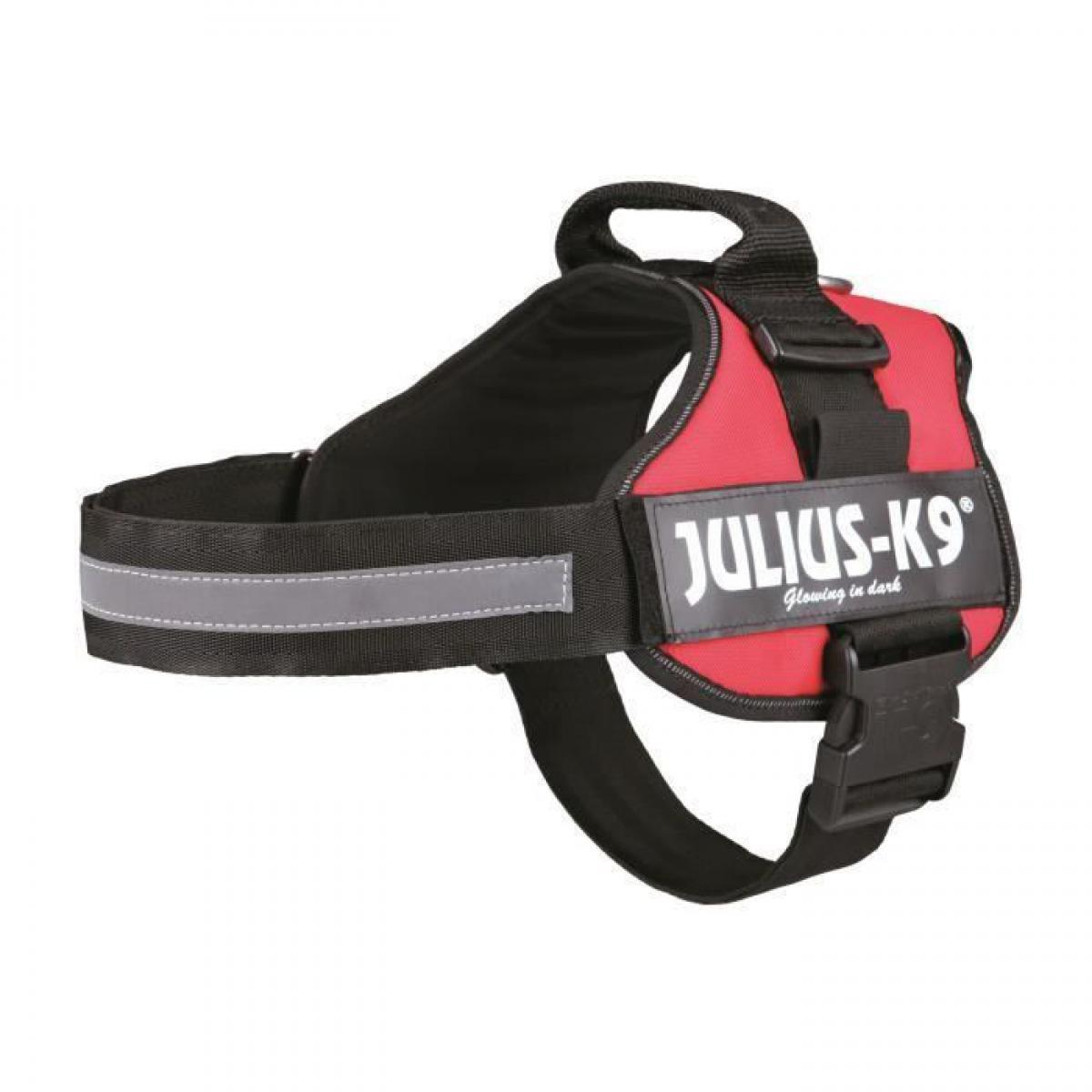 Julius K9 Harnais Power Julius-K9 - 2 - L-XL : 71-96 cm-50 mm - Rouge - Pour chien
