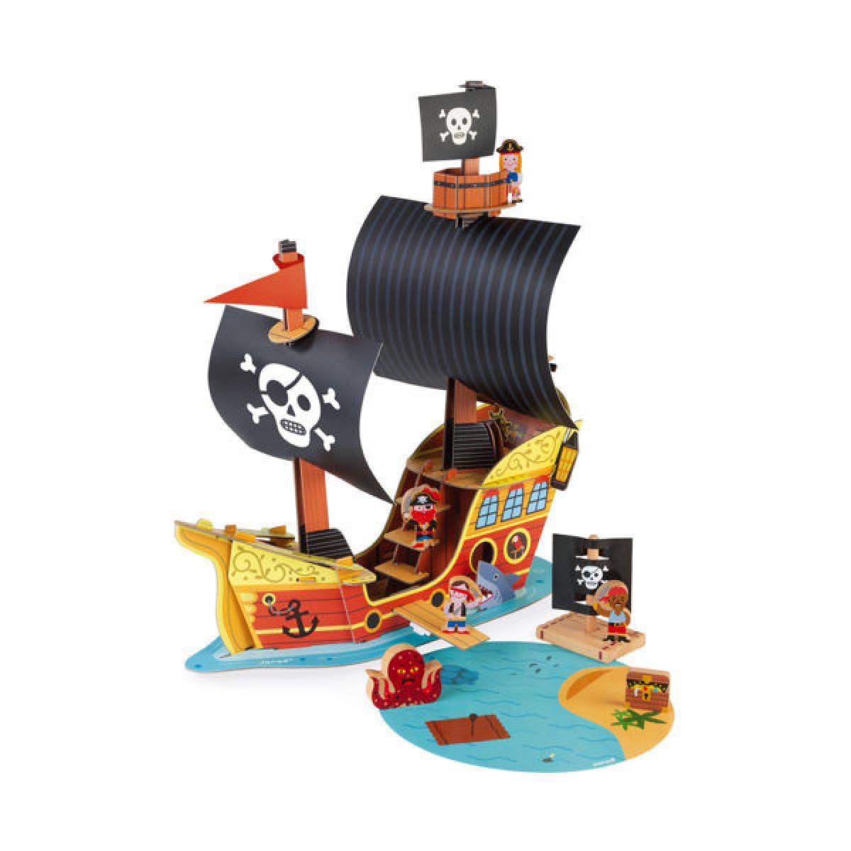 Juratoys-Janod Bateau pirate Story