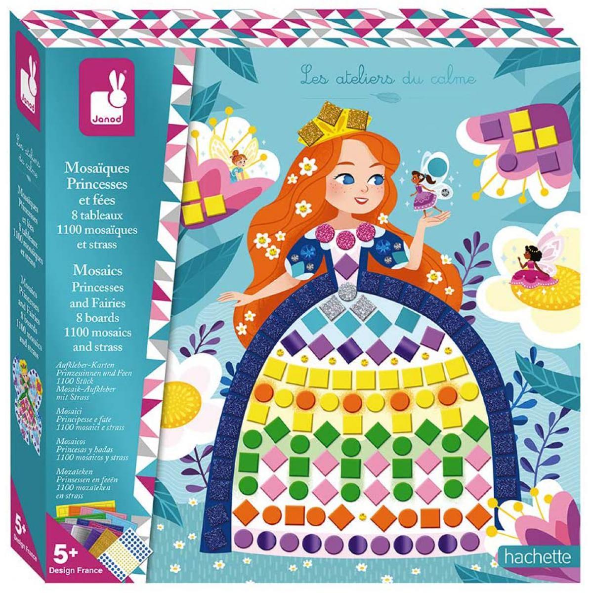 Juratoys-Janod Mosaiques princesses et fees