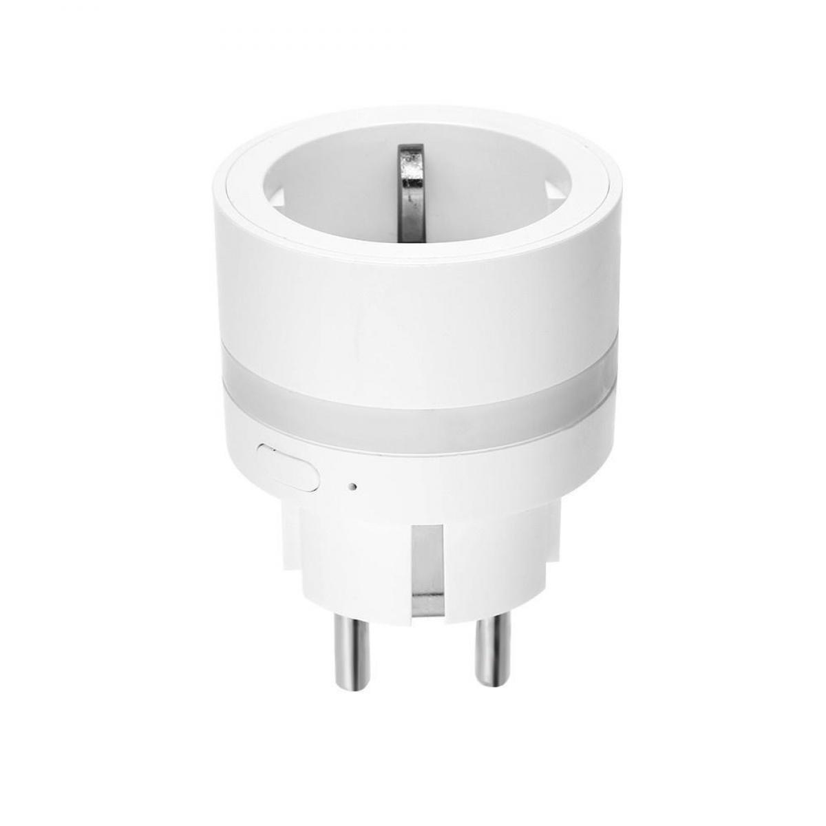 Justgreenbox Prise WIFI intelligente avec éclairage de nuit à LED Prise en charge de la connexion à distance de l'application télépho