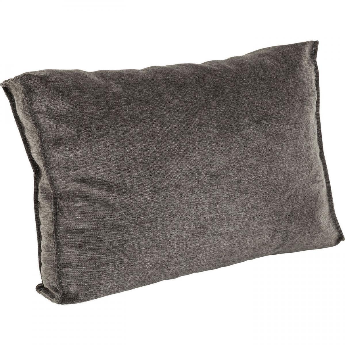 Karedesign Coussin 60x40cm canapé Infinity gris Kare Design