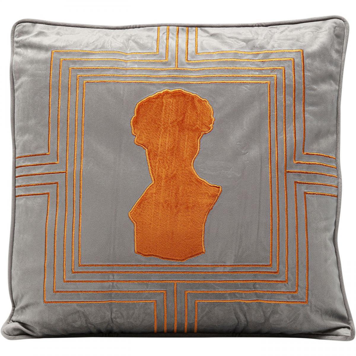 Karedesign Coussin buste orange 45x45cm Kare Design