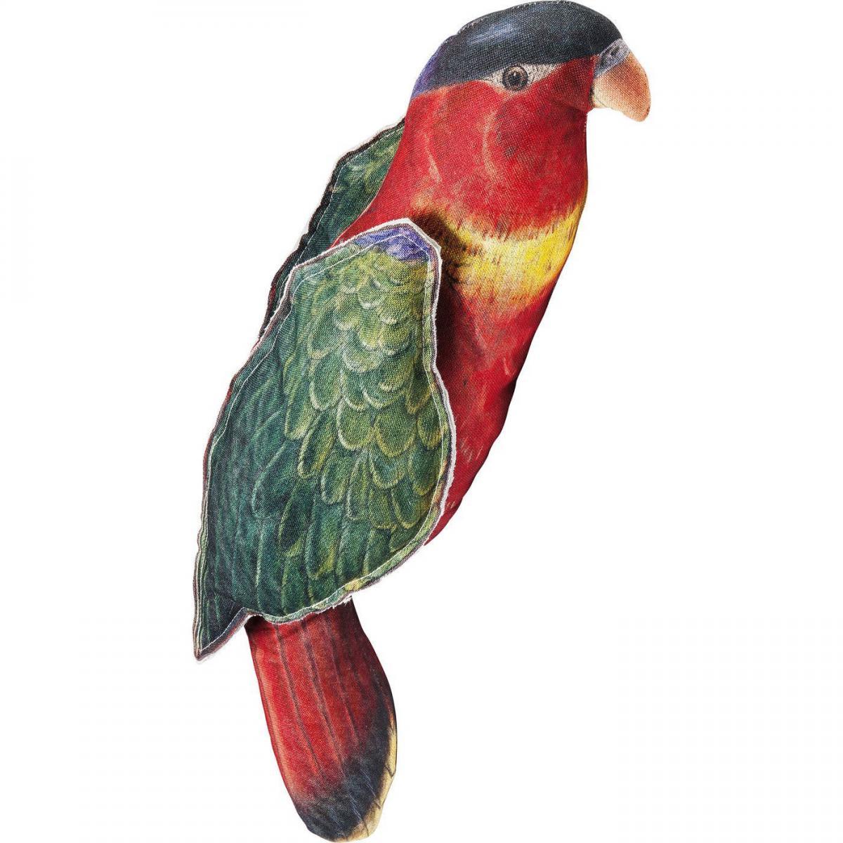 Karedesign Coussin Shape Perroquet rouge 72x20cm Kare Design