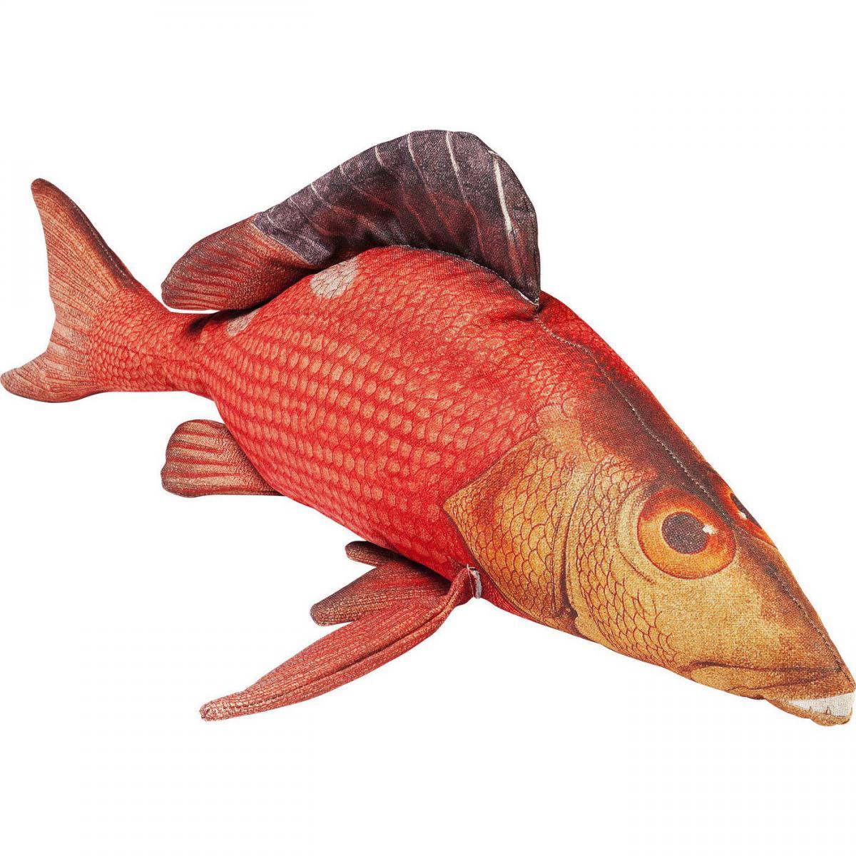 Karedesign Coussin Shape Poisson rouge 44x95cm Kare Design