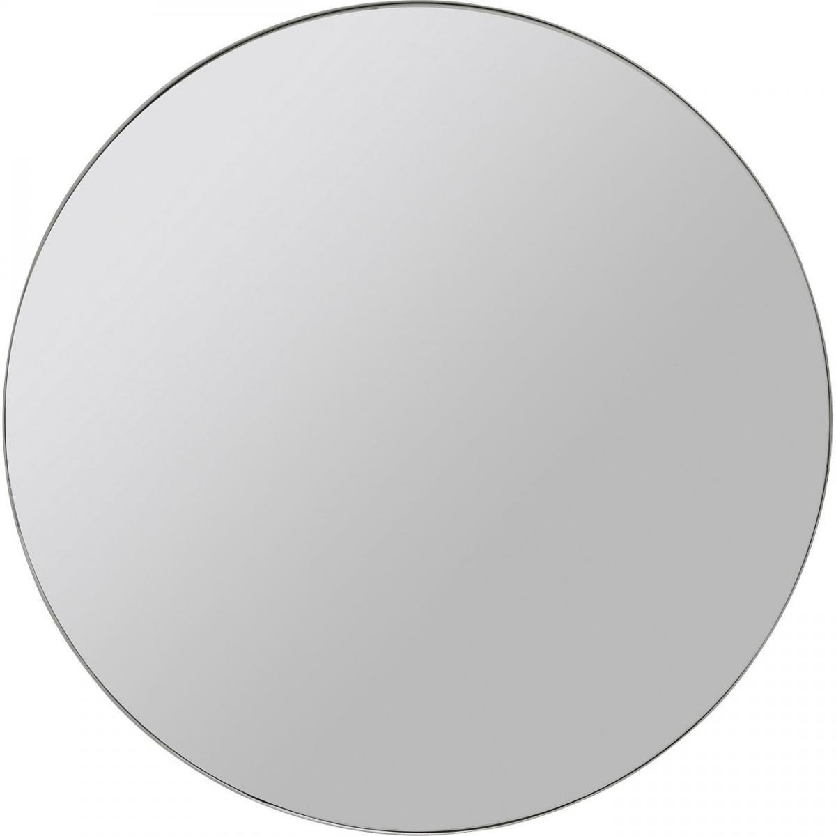 Karedesign Miroir Curve rond chrome 60cm Kare Design