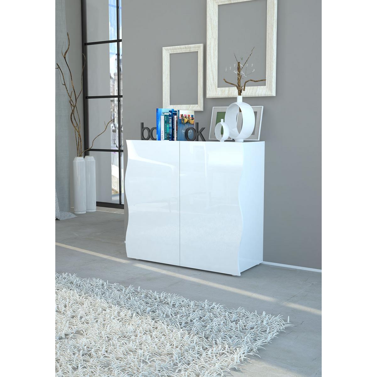 Kasalinea Buffet blanc laqué design CAPUCINE 4
