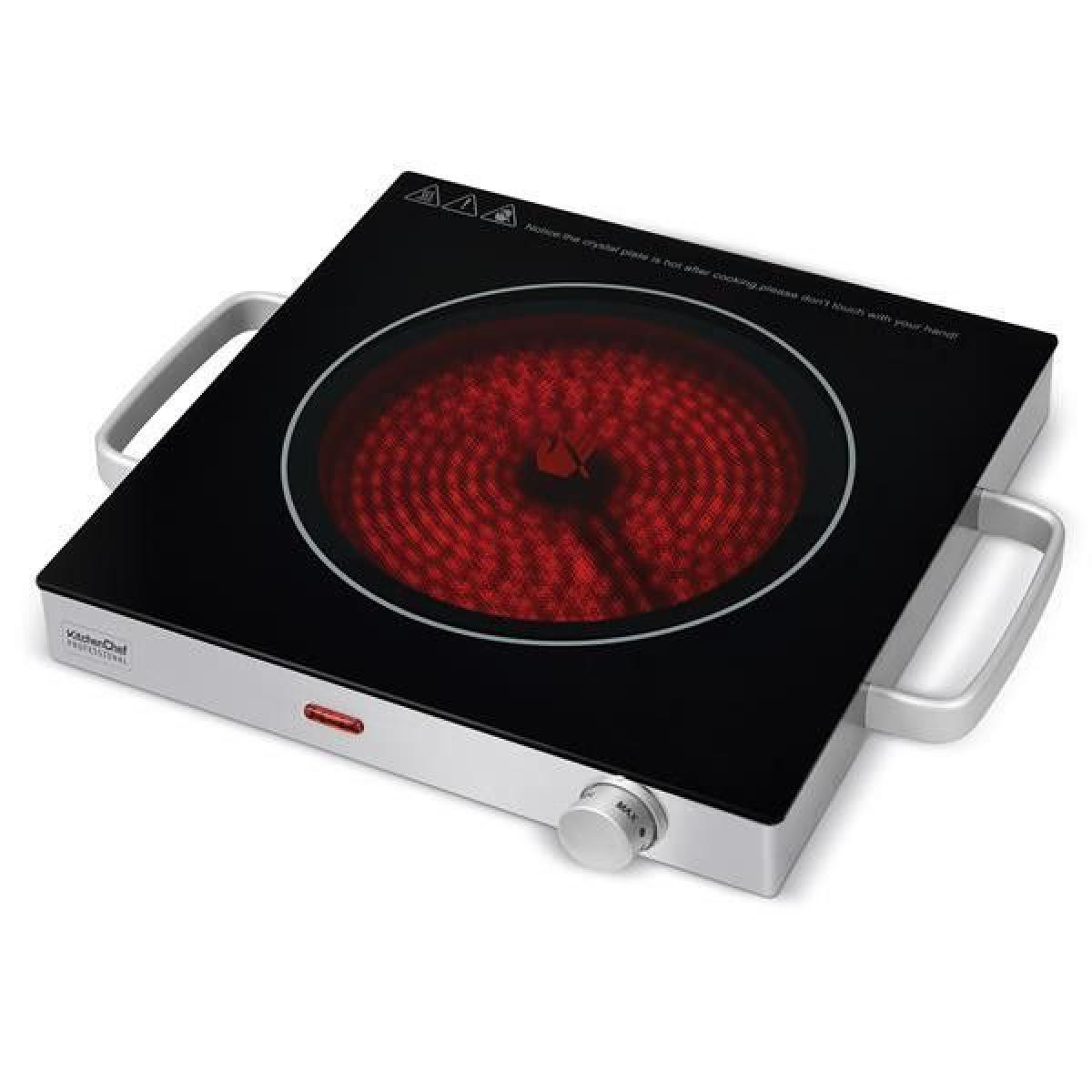 Kitchen Chef Plaque vitrocéramique KITCHENCHEF 2000W, KCPPV2000
