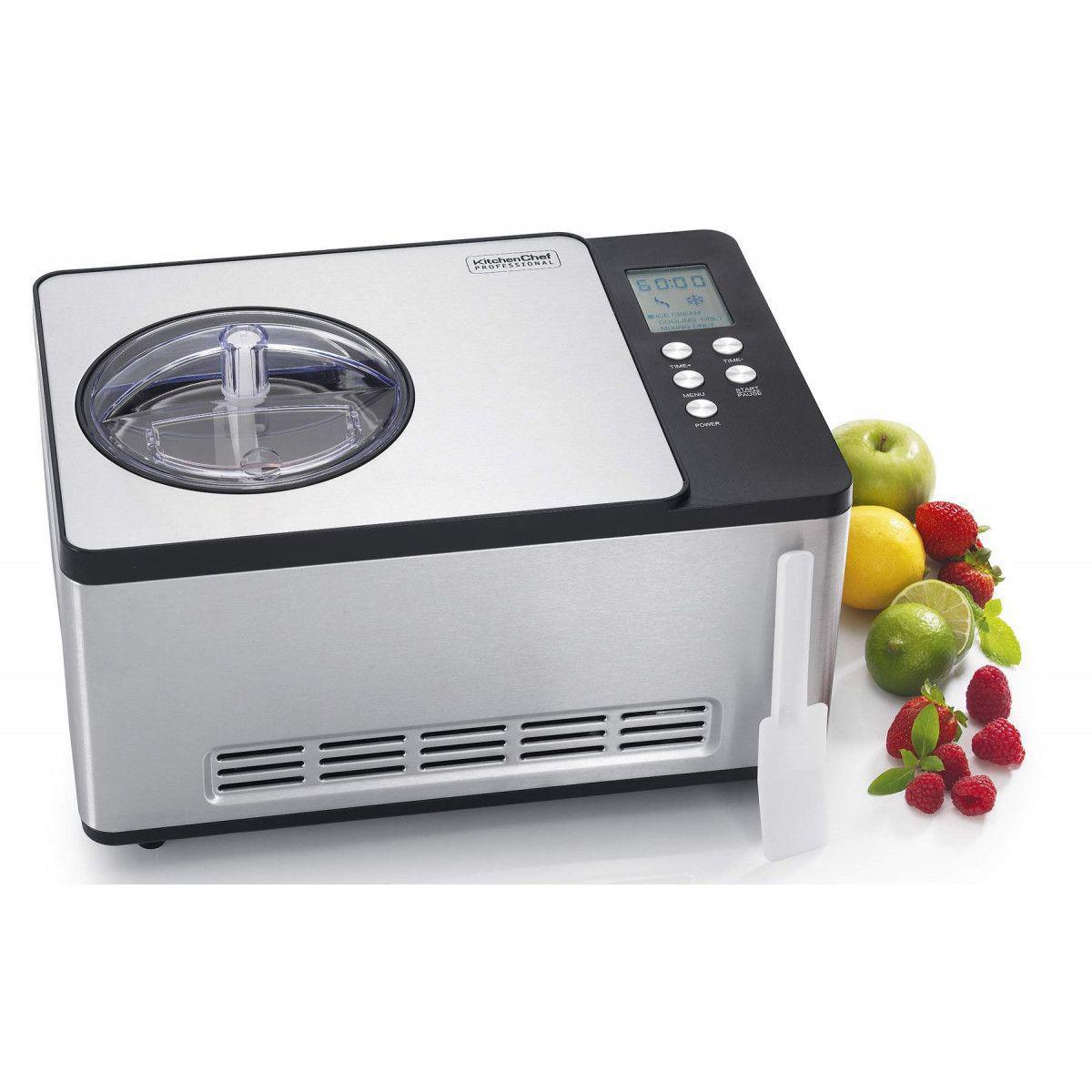 Kitchen Chef Turbine À Glace Kitchen Chef Ice 1530 Pro