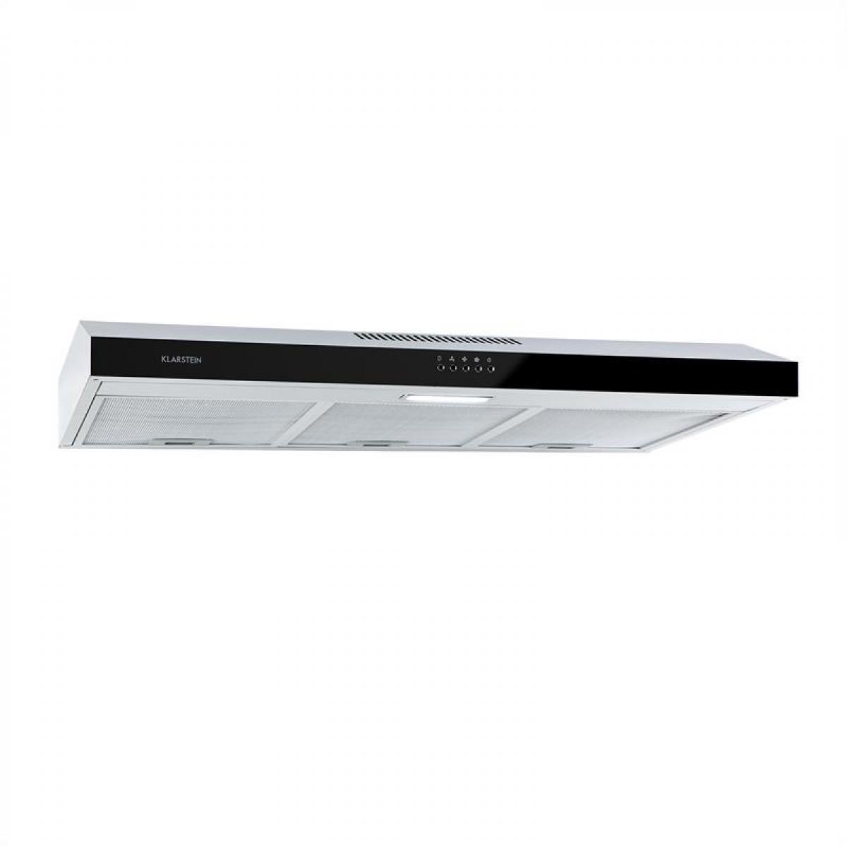 Klarstein klarstein Contempo Hotte aspirante 90 175m³ / h LED inox acrylique noir Klarstein