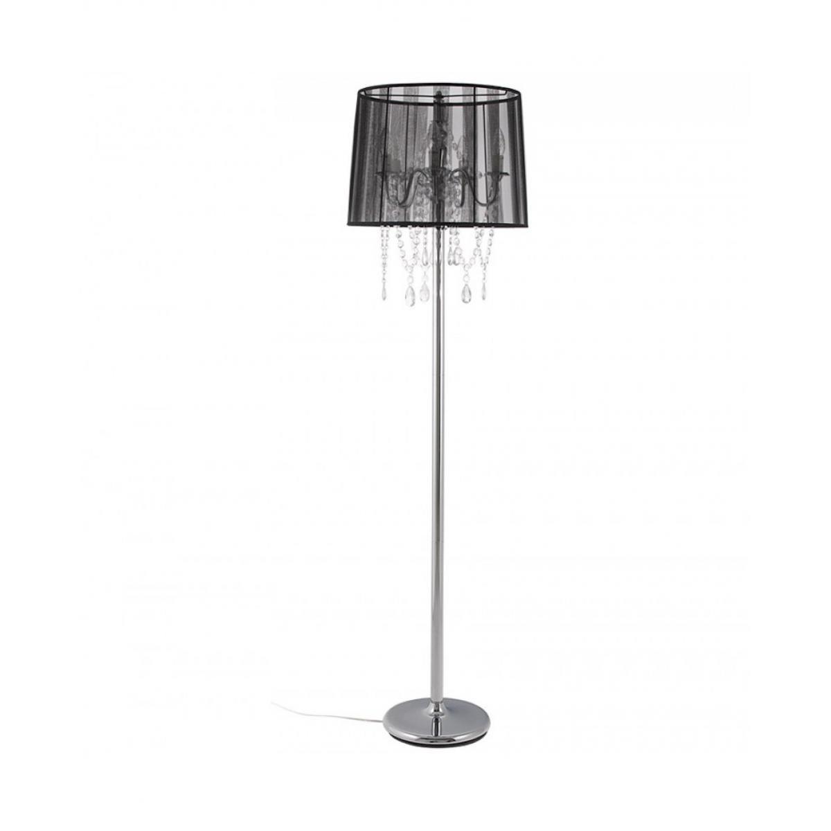 Kokoon Design Lampe de sol design LOUNGE BLACK 45x45x165 cm